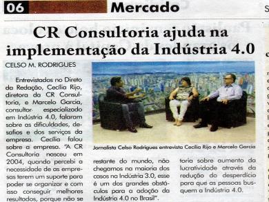 Entrevista da CR Consultoria no Jornal Repórter