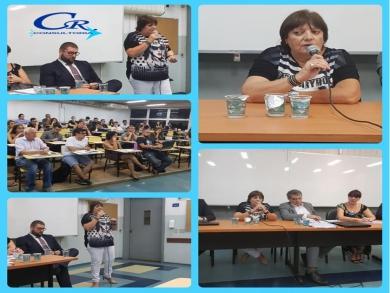 Evento na Faculdades de Direito de São Bernado do Campo